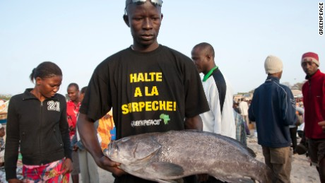 The great fish robbery that costs Africa billions - CNN