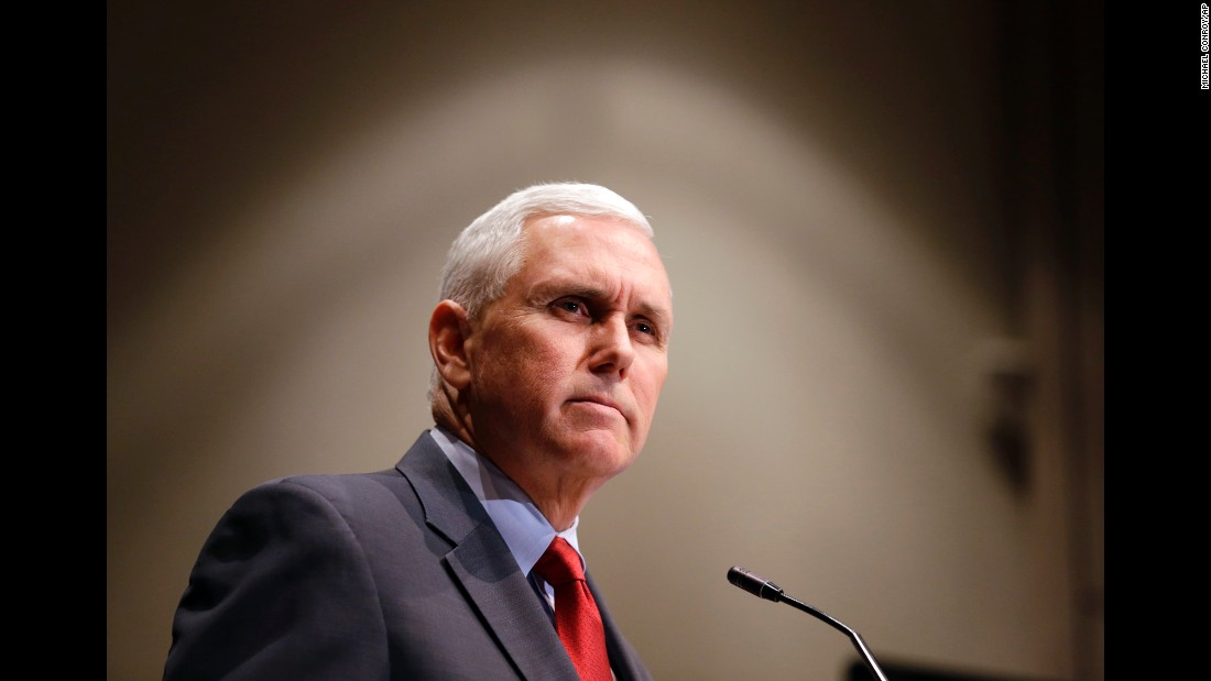 Pence announces that the Centers for Medicaid and Medicare Services had approved the State's waiver request for the plan his administration called HIP 2.0 during a speech in Indianapolis on January 27, 2015.