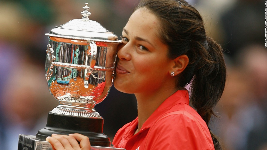 Ivanovic is a former tennis world No. 1 whose sole grand slam came when she beat Russia's Dinara Safina in the 2008 French Open final. However, she ended 2016 at 63rd in the WTA rankings.