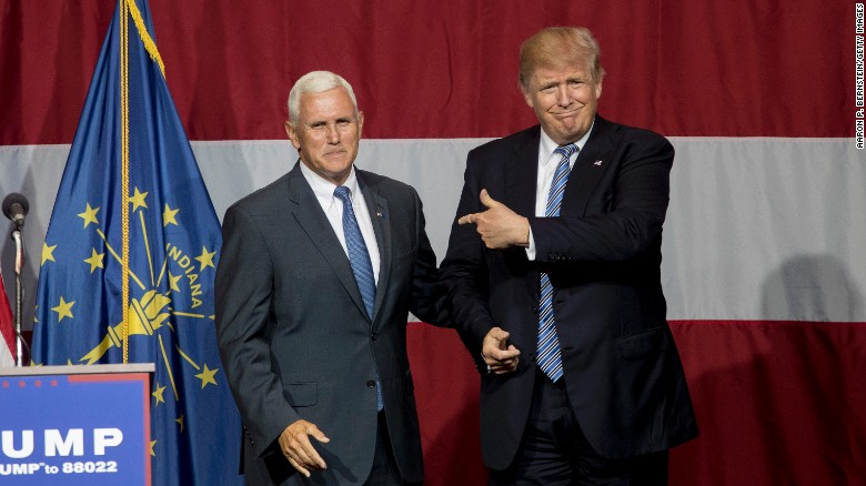 Source: Donald Trump was unsure of VP pick Mike Pence