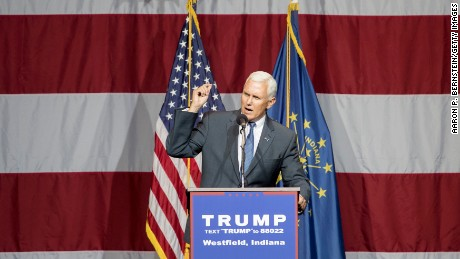 Pence unlikely to open donor floodgates to Trump