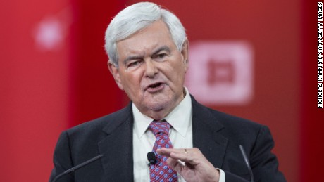 Gingrich: Shooting 'part of a pattern' on the left