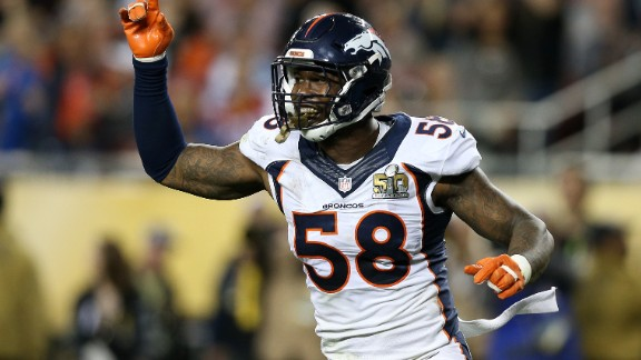 The only non-quarterback on the list, Denver Broncos' linebacker Von Miller is on pace for a Hall of Fame career. The MVP of Super Bowl 50 is coming off his fourth Pro Bowl appearance in a row and sixth overall. In 2016, Miller signed a $114.5 million deal ($70 million guaranteed) with the Broncos, making him the richest defensive player in NFL history. The former Texas A&M Aggie also has a side business farming chickens.
