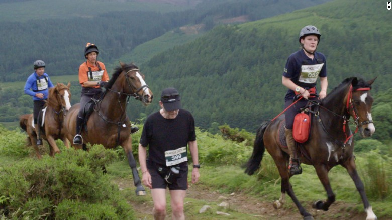 Man versus horse: the world's strangest marathon?