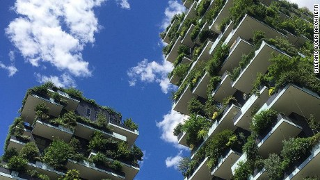 Gardens in the sky: The rise of green urban architecture