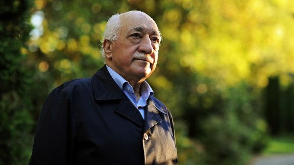 In this 2013 file photo, Turkish Islamic preacher Fethullah Gulen is pictured at his residence in Saylorsburg, Pennsylvania.
