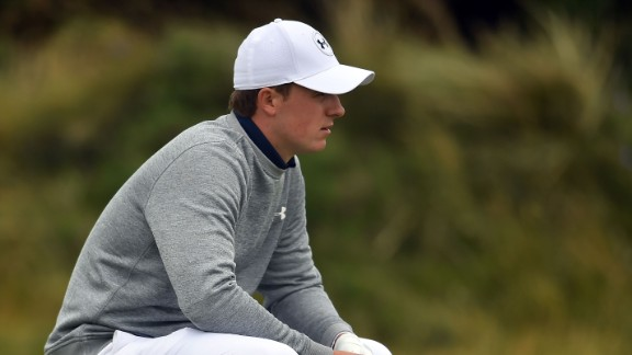 World number two Jordan Spieth is well off the pace on five-over after another disappointing day.