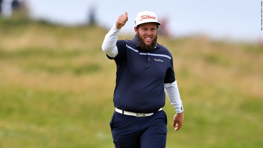 England's Andrew 'Beef' Johnston enhanced his reputation at the 145th British Open with superb play to match his crowd pleasing demeanor.