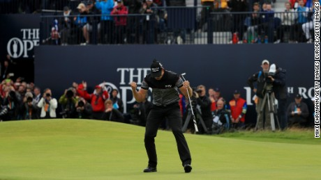 Stenson turned the tables on Mickelson after finishing as runner-up the American in 2013.