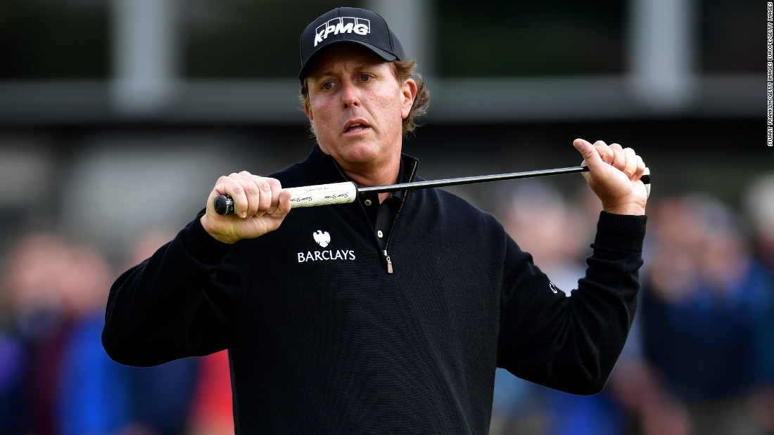 Like McIlroy, Phil Mickelson can complete the career grand slam in 2017. It is just the US Open that has eluded his grasp, with the veteran having racked up a record six runner-up finishes at the tournament.