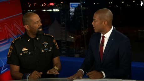 Don Lemon, sheriff spar over police shootings