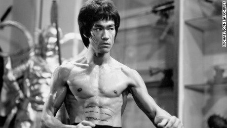 Bruce Lee Martial Arts Expression Body