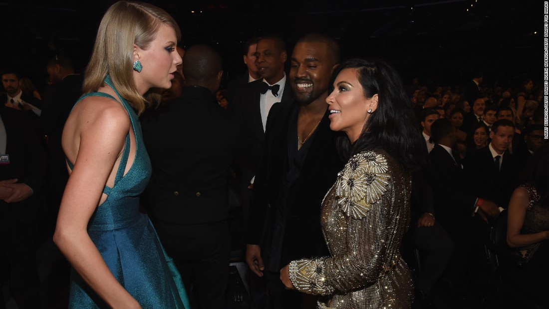 Taylor Swift And Kim Kardashian West Break Silence About Leaked Video Cnn