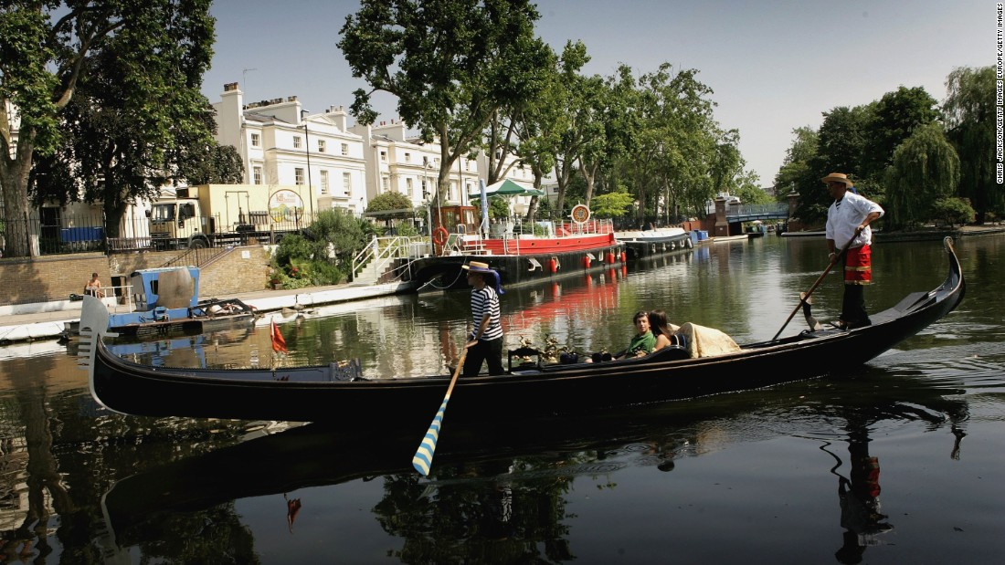 Little Venice in West London is among the city's most popular boating locations. A sharp increase in the number of Londoners living on the water has put pressure on the local boating community.