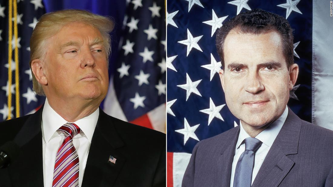 Iraq & syria trump u.s. missile attact Gergen: What sets Trump apart from Nixon and Clinton thumbnail