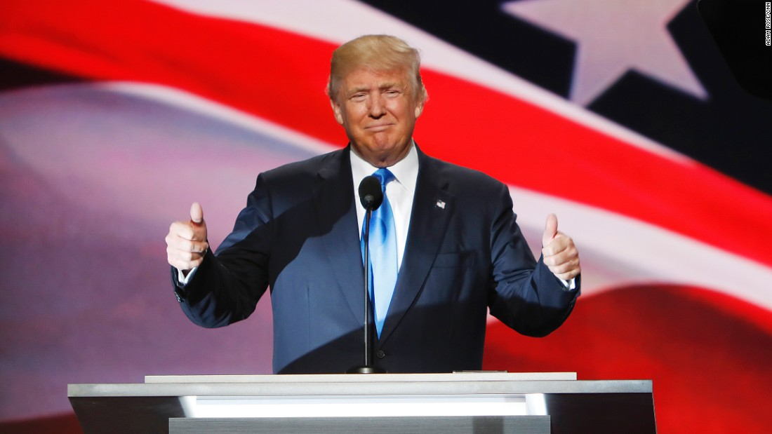c2c5b8c52c2014 Donald Trump officially nominated for president - CNN Video