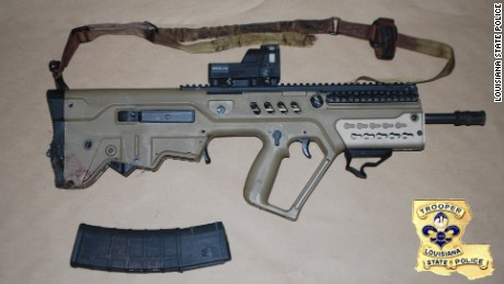 Long fired this IWI Tavor rifle in the July 17 attack, police said.