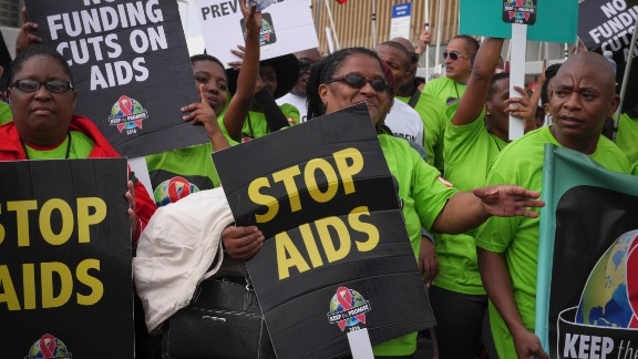 21st International AIDS Conference (AIDS 2016), Durban, South Africa.Photo shows the AHF AIDS walk.Photo©International AIDS Society/