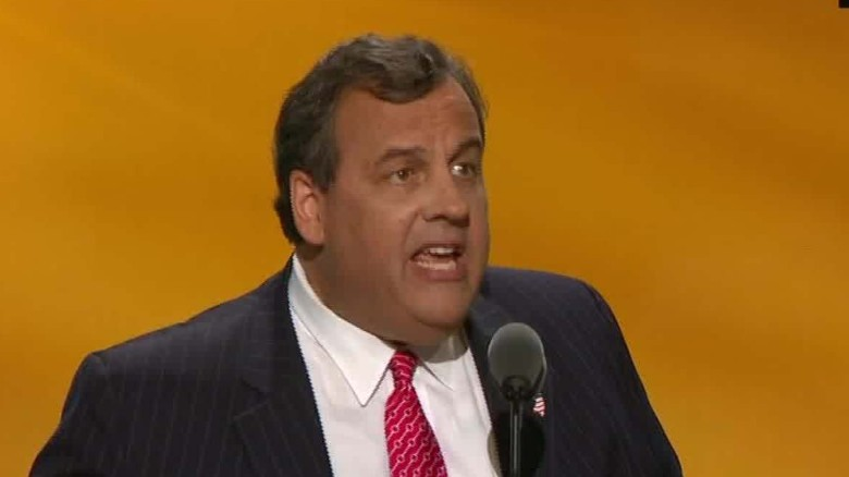rnc convention chris christie case against hillary clinton sot _00001325