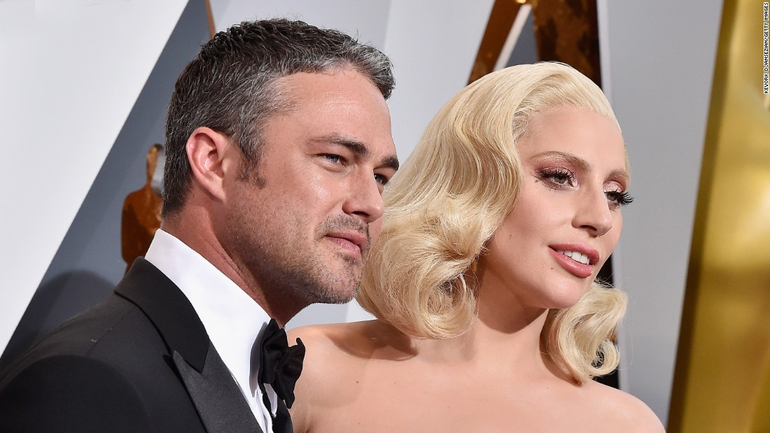 Lady Gaga said on July 20, 2016, that she and fiance Taylor Kinney were taking a break. The singer and the actor got engaged on Valentine's Day 2015.