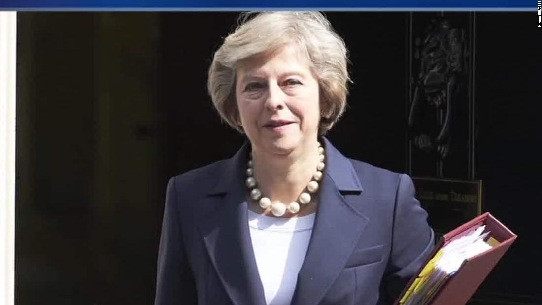 Theresa May Fast Facts