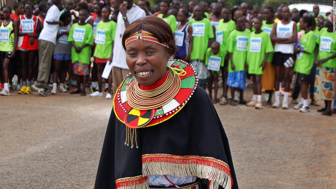 For many years, Kenyan marathon runner Tegla Loroupe has been using athletics to work toward peace in Africa. Five of the Olympic Refugee Team are South Sudanese refugees from her foundation's training center, and she will be the team's chef de mission.<br />