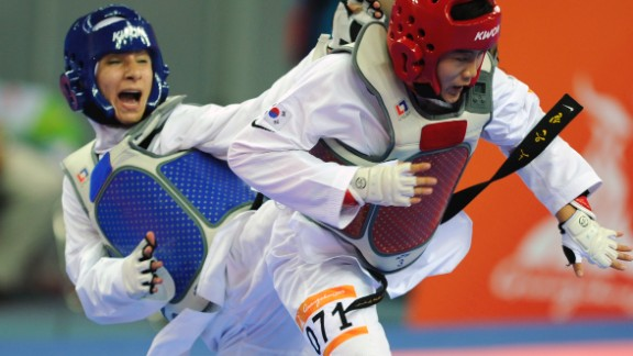 Raheleh Asemani, formerly a taekwondo athlete for Iran, was on the shortlist for the Olympic Refugee Team -- but will now compete for Belgium in Rio having been granted citizenship.