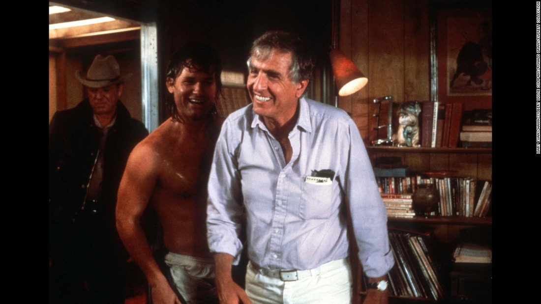"Director Garry Marshall, right, is seen with actor Kurt Russell, center, on the set of the movie ""Overboard"" in 1987. Marshall, a prolific director, producer and actor, <a href=""http://www.cnn.com/2016/07/20/entertainment/garry-marshall-obituary/index.html"" target=""_blank"">died Tuesday, July 19, </a>at the age of 81. He created popular TV shows such as ""Mork and Mindy"" and ""Happy Days"" and directed hit films such as ""Pretty Woman"" and ""The Princess Diaries."""