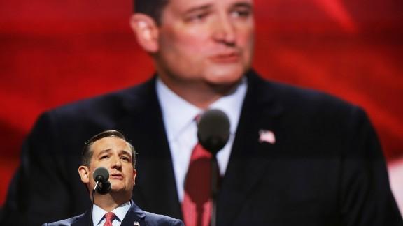 U.S. Sen. Ted Cruz, Trump