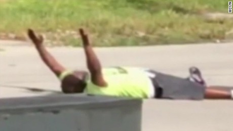 Miami shooting: Man says cops shot him while he was lying down with hands up