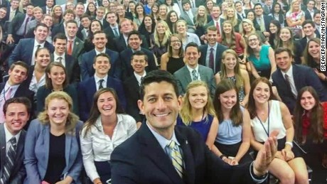 Dems show diverse interns after Ryan's selfie