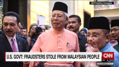 U.S. government: Billions stolen from Malaysian fund