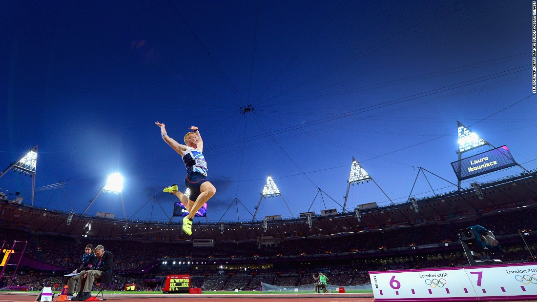 A long jump gold medalist on home soil at London 2012, Rutherford followed it up with a bronze in Rio four years later. His personal best is 8.51m (27ft 11in).