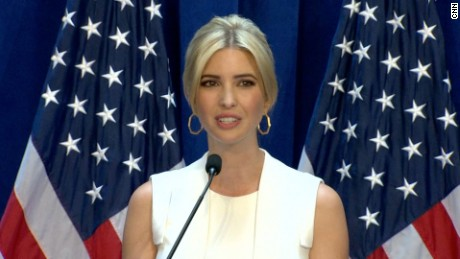Ivanka Trump ready to speak at rnc