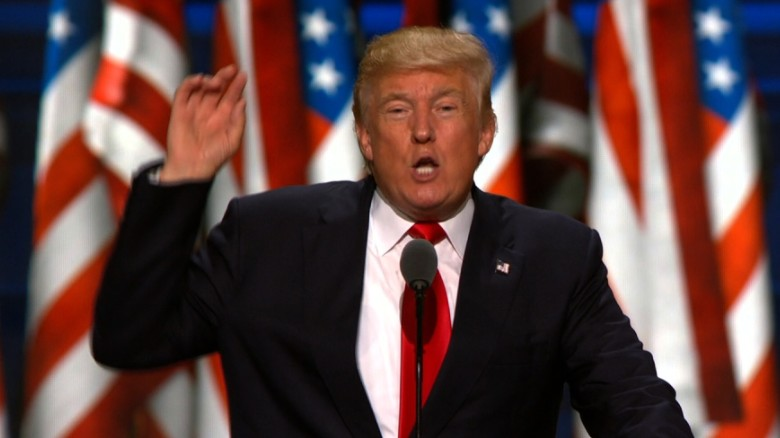 Donald Trump's big night in 90 seconds