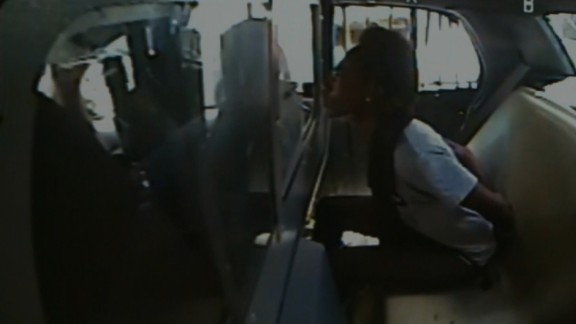 Ms. King said another officer made disparaging remarks about blacks while she was in the back of the cruiser.