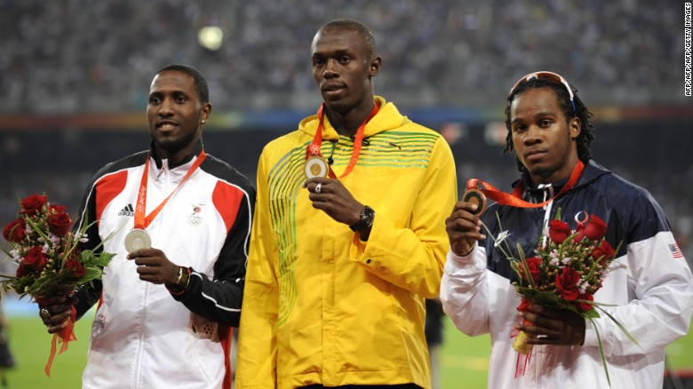 Usain Bolt Won The First Of His Six Olympic Gold Medals In 100m At Beijing