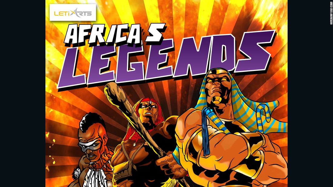 Their first game, Africa's Legends, launched three years ago and at the time of writing has had more than 50,000 downloads.