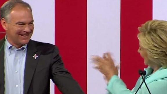 Hillary Clinton Tim Kaine vice president sot nr_00002016.jpg
