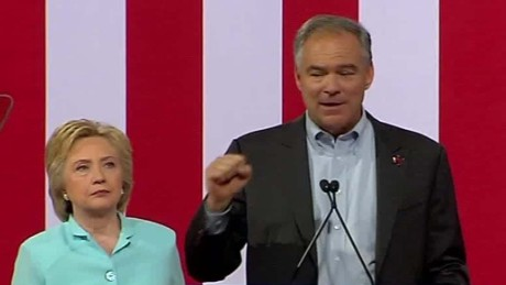 Tim Kaine gets emotional talking about shooting