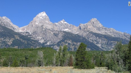 Wyoming's Grand Teton is the highest peak in the Teton Range with an elevation of 13,770 feet