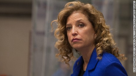 Wasserman Schultz resigning as party leader