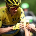Froome champagne