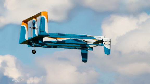 Amazon has been making significant headway in drone deliveries, with the first drop in the UK occurring in 2016. In 2017 a patent application emerged showing details of a system for safe air drop in back yards -- even involving tiny parachutes. Read more.