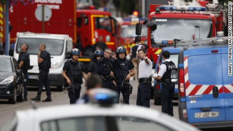 Priest brutally murdered in France terror attack