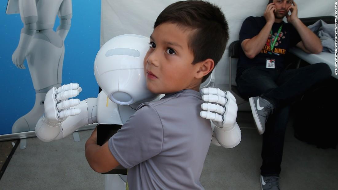 Robots Lifesavers Or Terminators Cnn