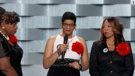 Geneva Reed-Veal, mother of Sandra Bland, speaks at the RNC