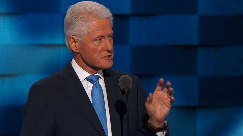 Bill Clinton's entire Democratic convention speech