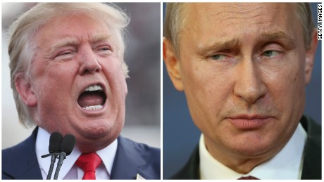 Trump encourages Putin, America's foe