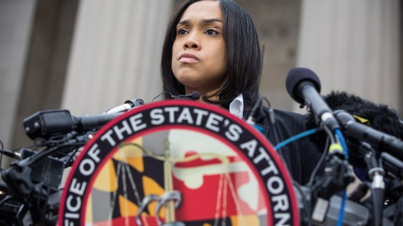 Baltimore State's Attorney Marilyn Mosby in a 2015 file photo.